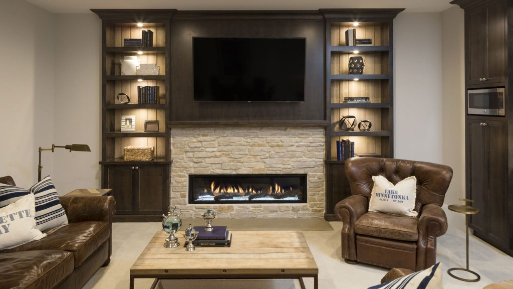 Linear Fireplaces