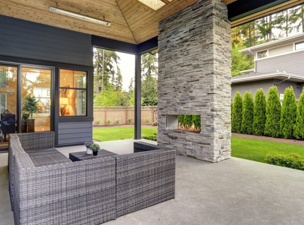 See Through gas Fireplaces